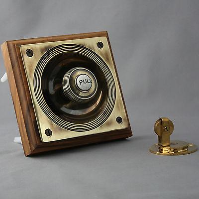 Brass Claverley Front Door Bell Pull 5