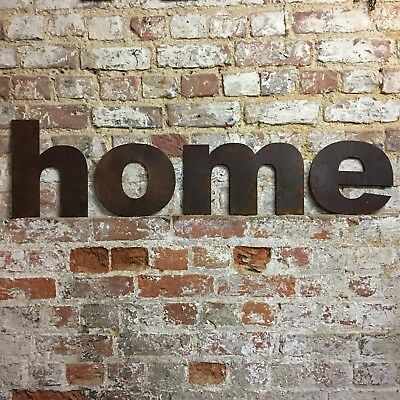 z LOWER CASE RUSTY METAL LETTERS SHOP HOME VINTAGE WORD RUSTIC INDUSTRIAL SIGN 4