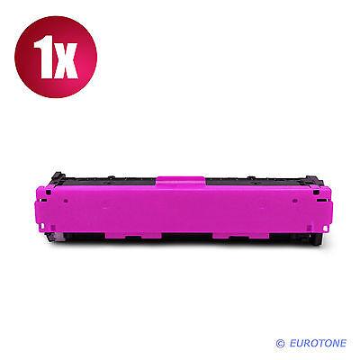 2x Eurotone PRO Patrone SCHWARZ für HP Color LaserJet CM-1312-MFP CM-1312-CI