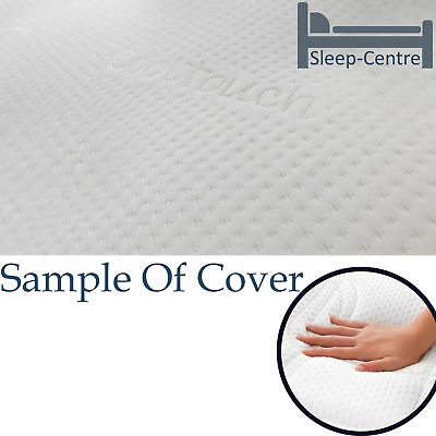 Lavish New 3Ft Single Visco Memory Foam Mattress With Washable Cooltouch Cover 6
