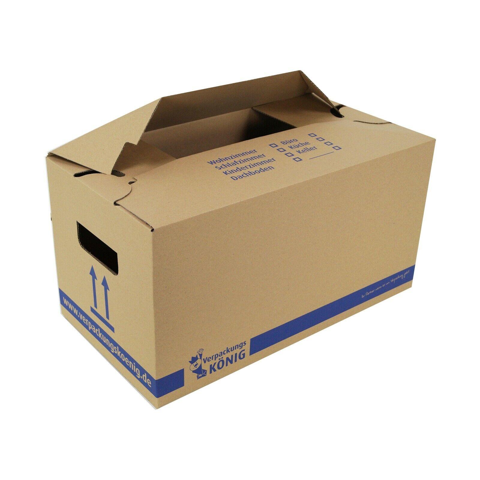15 neue Profi Umzugskartons UK 2-wellig Umzug Karton Boxen Tragekarton Kisten