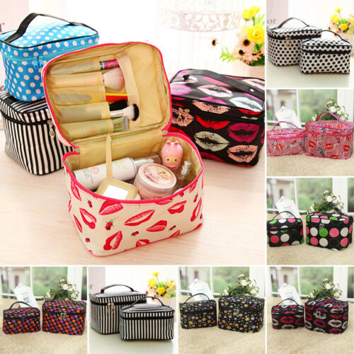 Women Cosmetic Make Up Travel Toiletry Bag Pouch Organizer Handbag Case Storage 4