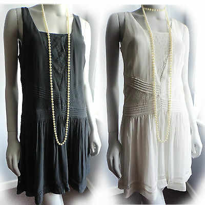 1920s Flapper Charleston Gatsby Dress *SECONDS* UK 8 10 12 14 NEW €49,99 2