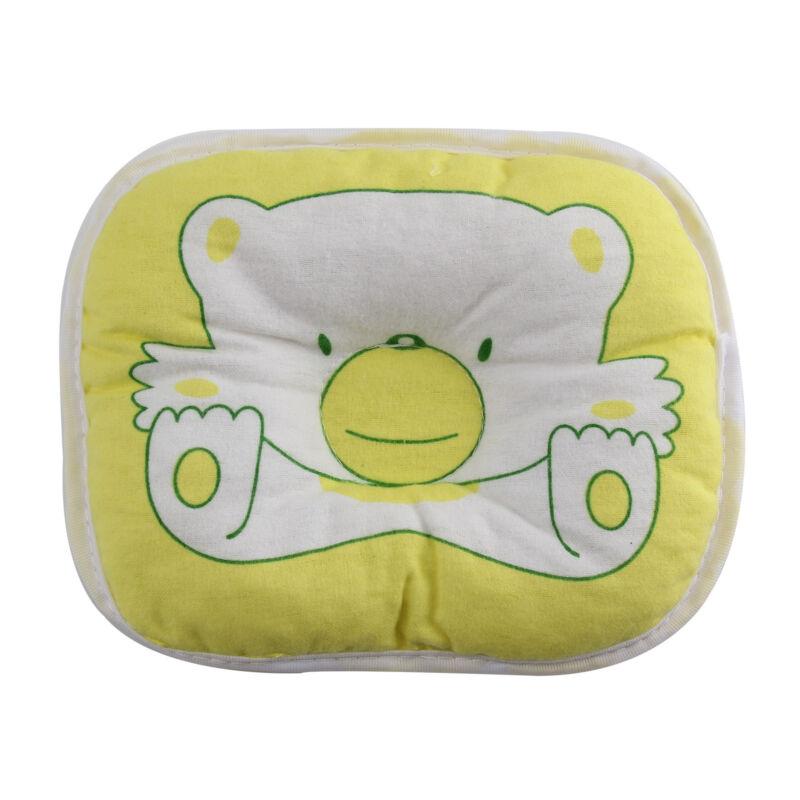 Bear Pattern Baby Pillow Newborn Infant Comfortable Cushion Prevent Flat Head 3