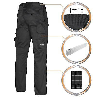 Portwest Arbeitshose Multifunktion Bundhose Workwear Berufskleidung schwarz Hose