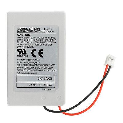 PS3 Wireless Controller Battery 2x Playstation 3 Li-ion Battery 4.2V 1800mAh 3