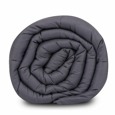 """60"""" x80"""" Weighted Blanket  Full Queen Size Reduce Stress Promote Deep Sleep 20lb 6"""