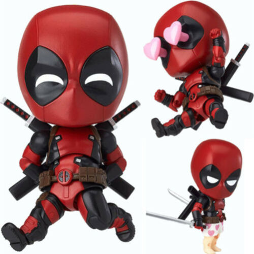 The Avengers Marvel Superheld Spiderman Deadpool Action Figur Figuren Kinder Toy 12