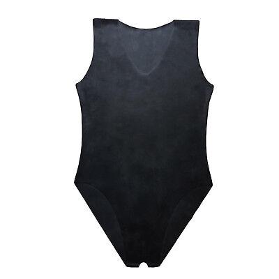 Latex Catsuit Ouvert aus Gummi in schwarz, neu original verpackt, Einheitsgröße