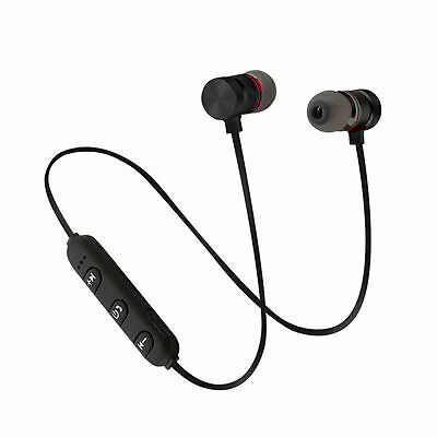 Auricolari Bluetooth Cuffie Magnetiche Sportive Wireless Stereo Xt-6 Fitness 8
