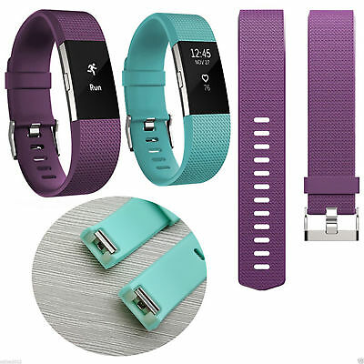 New Replacement Silicone Wrist Band for Fitbit Charge 2 / Charge HR 2 4