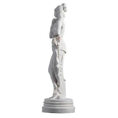 "Persephone Goddess Of The Underworld Springtime Flowers&Vegetation Statue 11.8"" 5"