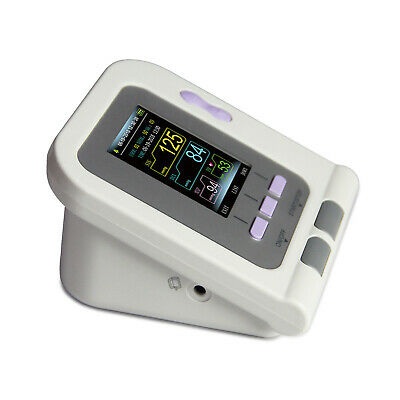 CONTEC08A Color Blood Pressure Monitor BP Machine Pediatric Adult 4 Cuffs+ PC SW 6
