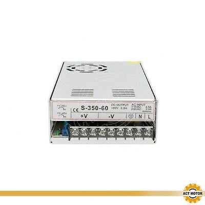 DE Free 1PC Schaltnetzteil 350W 60V Single Switching Power Supply 5.85A Netzteil 3