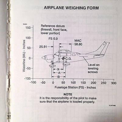 Cessna 206h Nav iii Information Manual