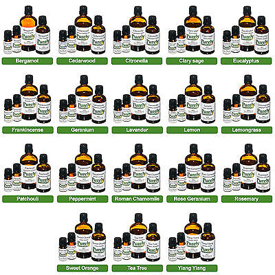 10ml Essential Oil Pure Natural For Aromatherapy Diffuser Organic Fragrances 2