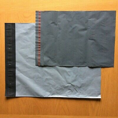 40 x Mixed Size Grey Poly/Plastic Mailing/Postal/Postage Bags Strong Self Seal 2