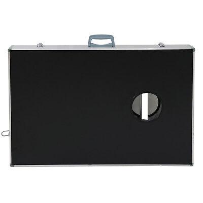 CornHole Bean Bag Toss Game Set Aluminum Frame Portable Design W/ Carrying Case 7