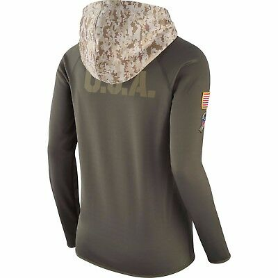 a9777e21e2a ... Dallas Cowboys Nike Women s Salute to Service Performance Pullover  Hoodie - 5