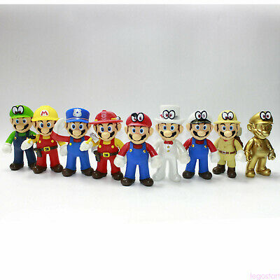 New Super Mario Bros. Odyssey Collectible Plastic PVC Action Figure Doll Toy 3