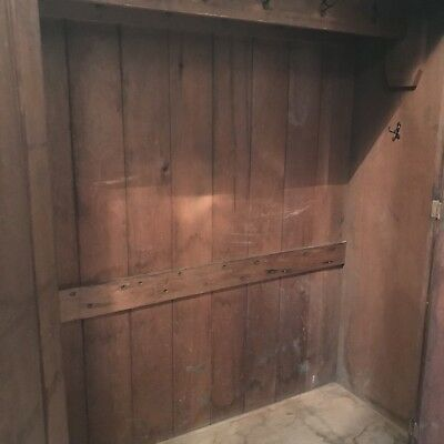 Early American Furniture Antique Primitive Pine Colonial Armoires Wardrobe