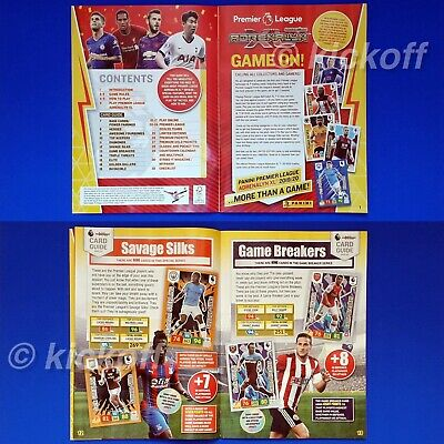 Panini Adrenalyn XL 2019-2020: Starter Pack. Binder and 26 cards. Premier League 5