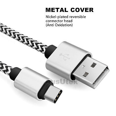 2x Type-C Cable Data Fast Charger Cord For Samsung S8 S9 S10 Plus + S10e Note 10 3