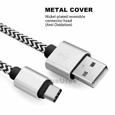 3X Type-C Data Fast Charger Cable Cord For Samsung S8 S9 S10 Plus S10e Note 8 9 7