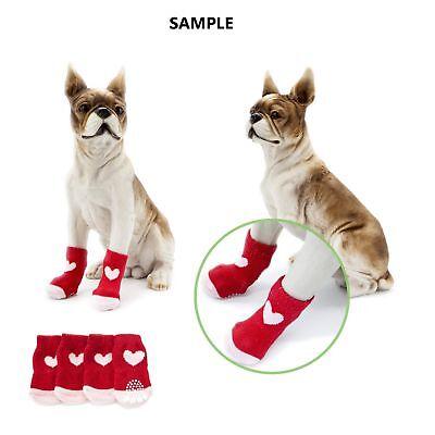 Dog Socks Non-Slip Grip Slip Anti-Skid S M L XL - Puppy Cat Pet Shoes Slippers 11