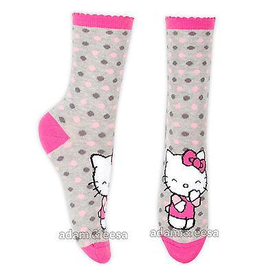 Ragazze Hello Kitty Caviglia Di Carattere Calze - Misura Opzioni Disponibili 2