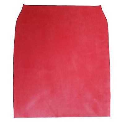 Langer Latex Rock aus Rubber in rot, Einheitsgröße 4