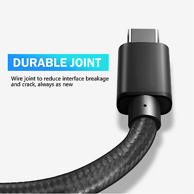USB-C 3.1 Type-C Data FAST Charging Cable FOR Samsung S10 S9 S8 NOTE 10 PLUS P30 6