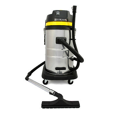 Industrial Wet & Dry Vacuum Cleaner Commercial Stainless Steel Equipment Tools 2