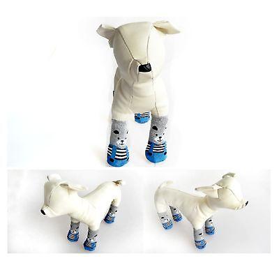 Dog Socks Non-Slip Grip Slip Anti-Skid S M L XL - Puppy Cat Pet Shoes Slippers 12