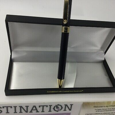 Sarah Brightman HYMN Concert Swarovski VIP Experience Gold Pen Gift & Silver Pen 4