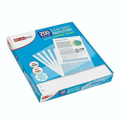 200 Sheet Protectors, Holds 8.5 x 11 inch Sheets 3