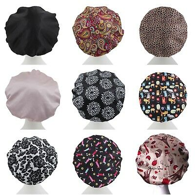 Dilly's Collections Premium Microfiber Lined Shower Cap Hair Care Adults / Kids 3