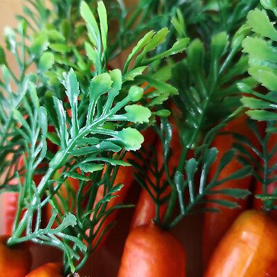 18 x Möhren Karotten 6.5cm Schneemann Nase Dekoration Ostern Gemüse Kunstgemüse 10