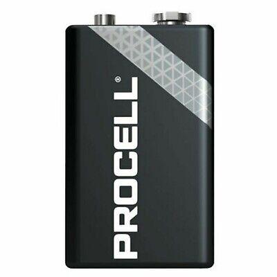10 x Duracell 9V PP3 Industrial Procell Batteries, Smoke Alarm, LR22 BLOC MN1604 2