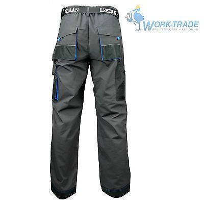 Arbeitshose Bundhose Arbeitskleidung Hose Herren Grau Schwarz Blau Gr. 46-62 4