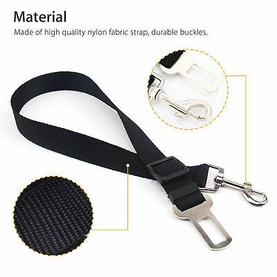 2 Pack Cat Dog Pet Safety Seatbelt for Car Seat Belt Adjustable Harness Lead 7
