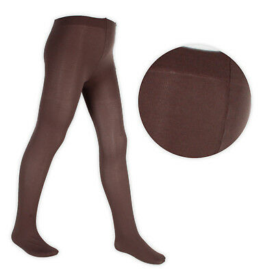 Girls Back To School 70 Denier Opaque Footed Tights in 6 Colours