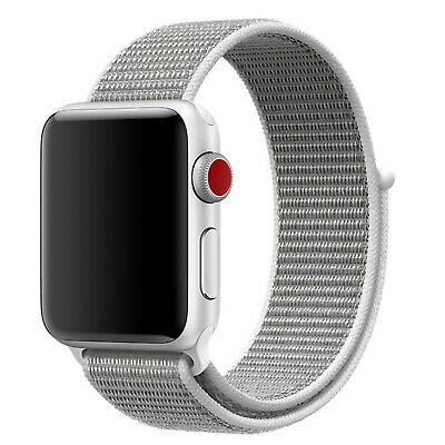 Nylon Woven Sport Loop Band Strap For Apple Watch iWatch Series 4/3/2/1 38/42mm 5