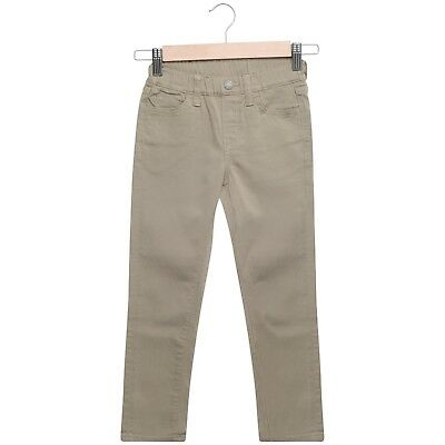 Boys Trousers Jeans Pants Pull On Stretch Elasticated Waistband Straight 4