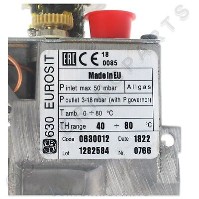 0.630.012 Euro Sit Main Gas Valve Temperature Control Thermostat Fsd Ffd 0630012 8