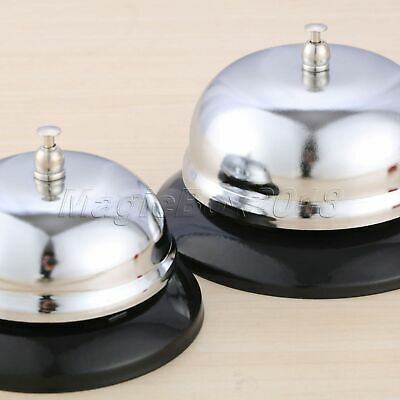 1Pc Desk Kitchen Hotel Counter Reception Restaurant Bar Ringer Call Bell Service 8