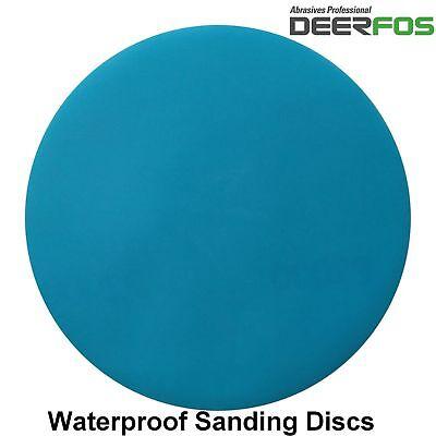 """75mm 3"""" Wet or Dry Hook & Loop Sanding Discs P40-P3000 Sandpaper DA Pads / VAT 2"""