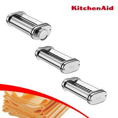 KitchenAid  5KSMPRA Dreiteiliger Nudelvorsatz  mit Reinigungsbürste 2