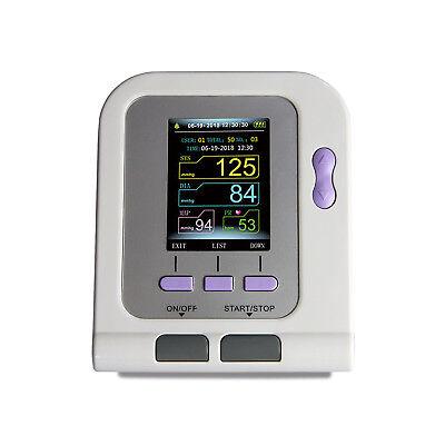 Digital automatic blood pressure monitor+4Cuffs spo2 probe FDA approved home use 5