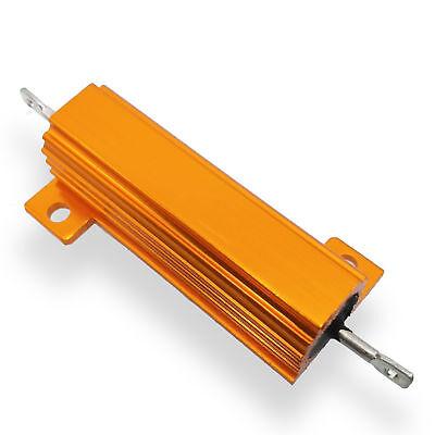 US Stock 4pc 33K ohm 33K 50W Watt Aluminum Housed Metal Case Wirewound Resistors